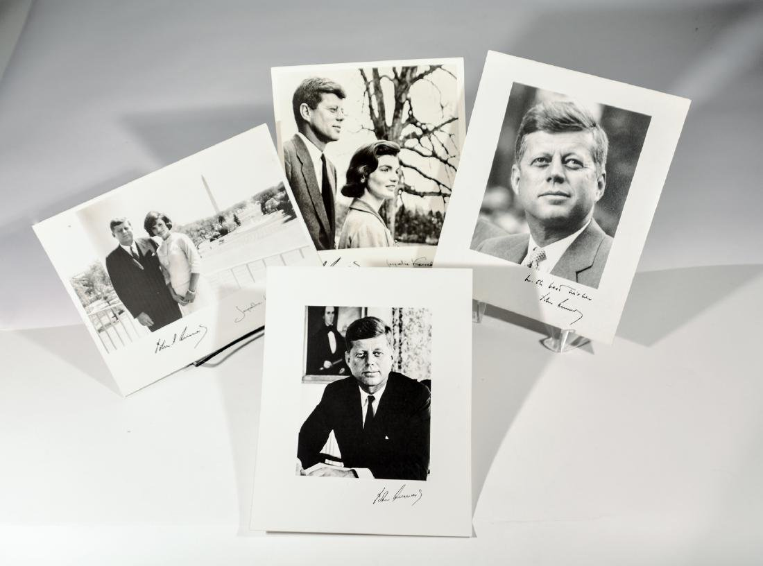 John F. Kennedy Photographs (4)