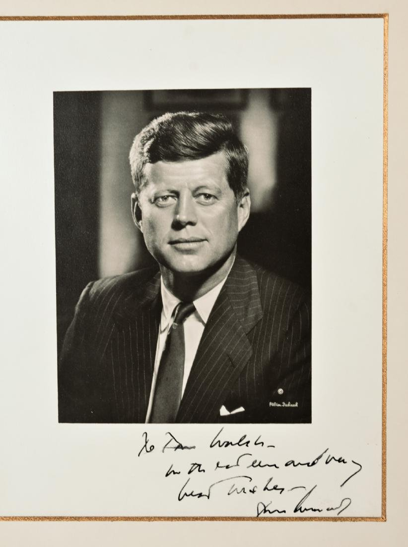 John F. Kennedy Inscribed Photo