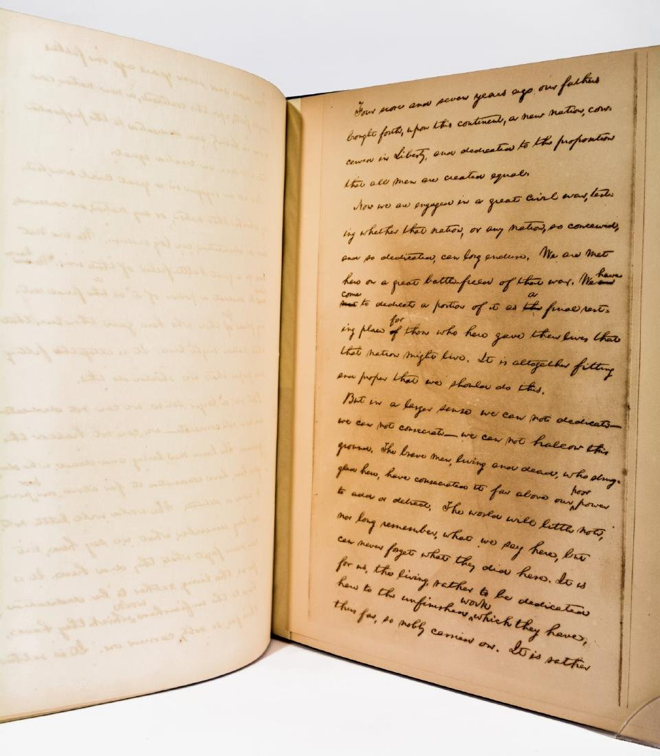 Lincoln's Gettysburg Address, Hay Manuscript - 4