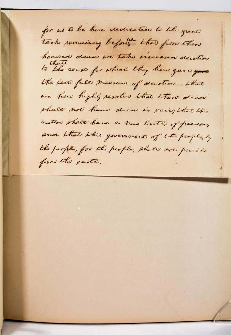 Lincoln's Gettysburg Address, Hay Manuscript - 6