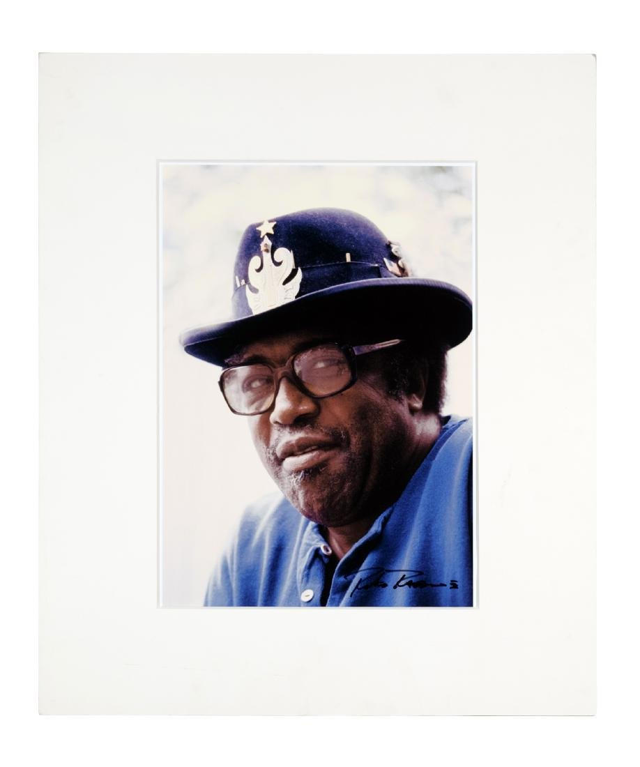 Bo Diddley Photographic Portrait by Roberto Rabanne
