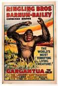 Gargantua The Great Circus Poster