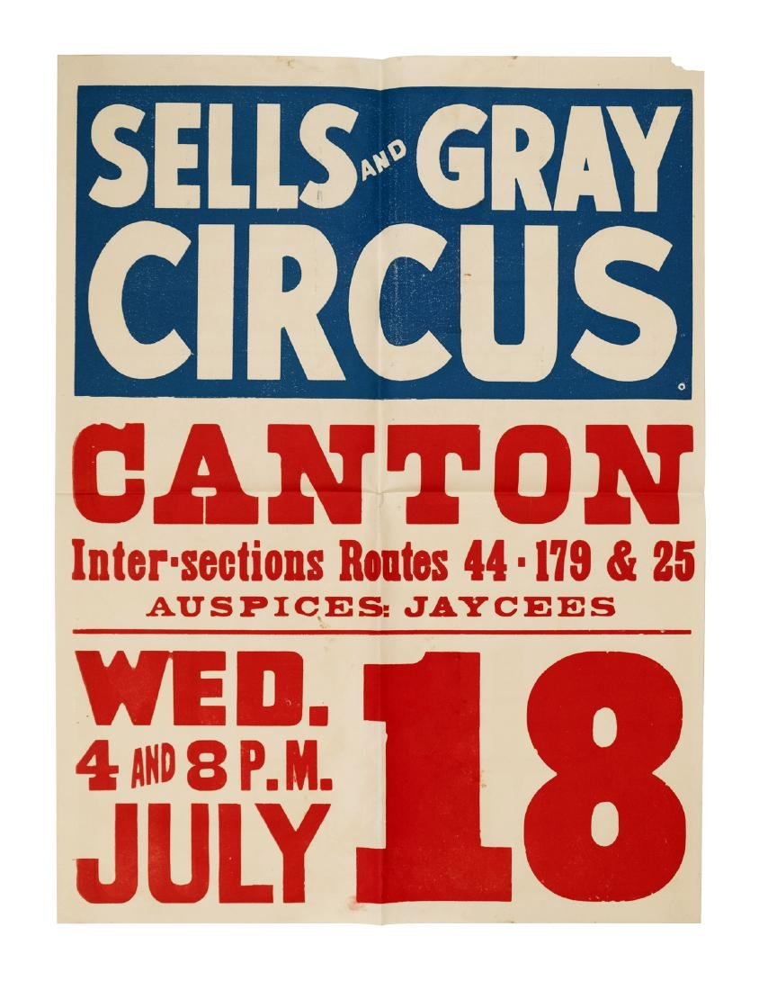 Collection of Circus Posters (13)