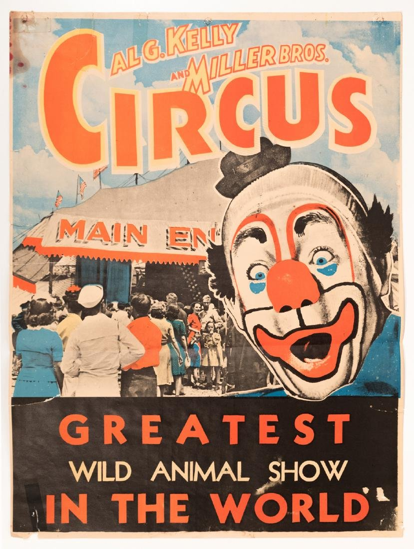 Two Circus Posters (2)