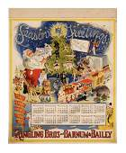 1947 Calendar - Ringling Brothers and Barnum & Bailey