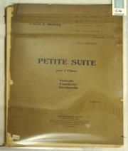 18: C16 - SHEET MUSIC, 1925