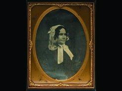912: D7 - SEATED WOMAN, SARA B. WHITE