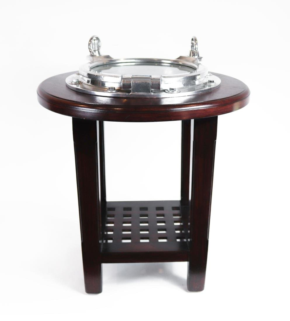Aluminum Porthole Table