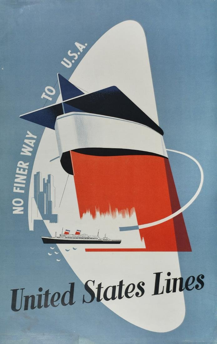 S.S United States Poster