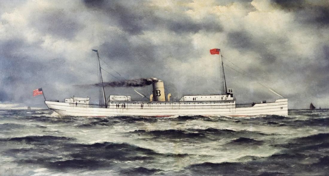 Admiral Dewey Oil on Canvas