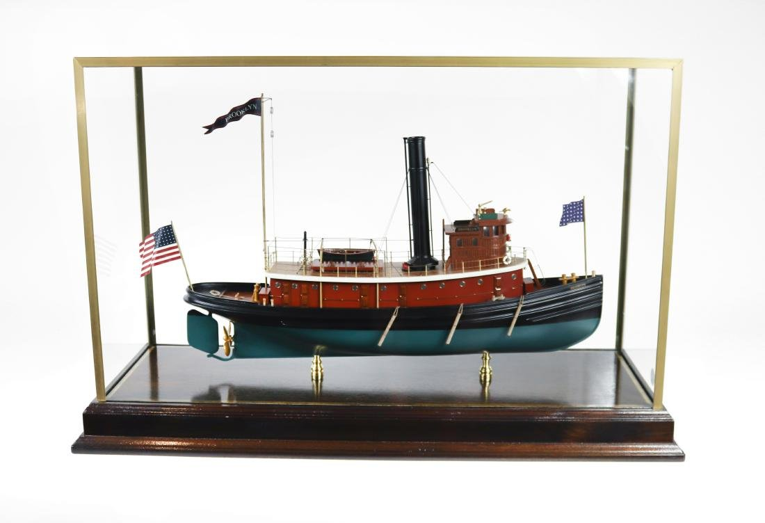 "Tugboat ""Brooklyn"" Ship Model"