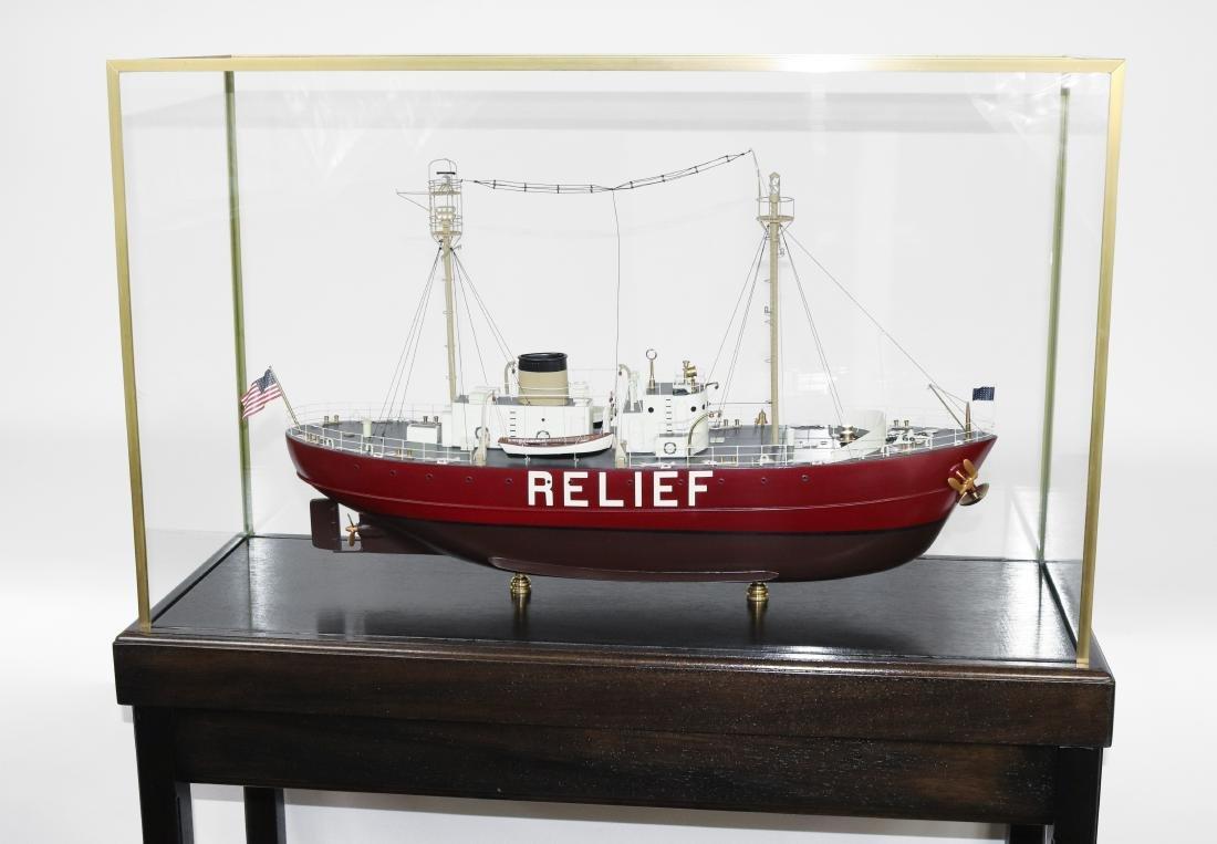 """Lightship """"Boston"""" Model"""