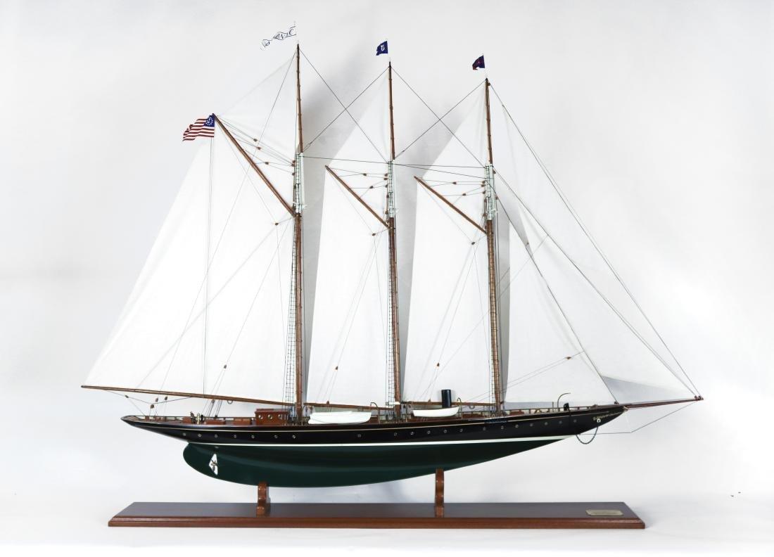 Schooner Yacht \