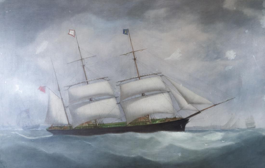Samuel Walters Marine Painting