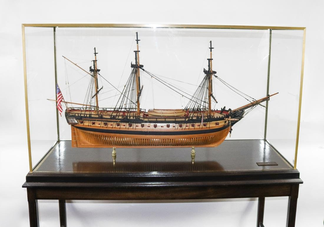 """Boston"" Frigate Ship Museum-Quality Model"