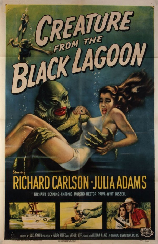 """Creature From The Black Lagoon"" Poster"