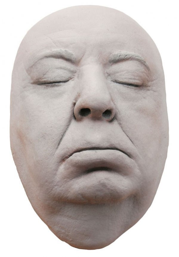 Alfred Hitchcock Plaster Lifecast