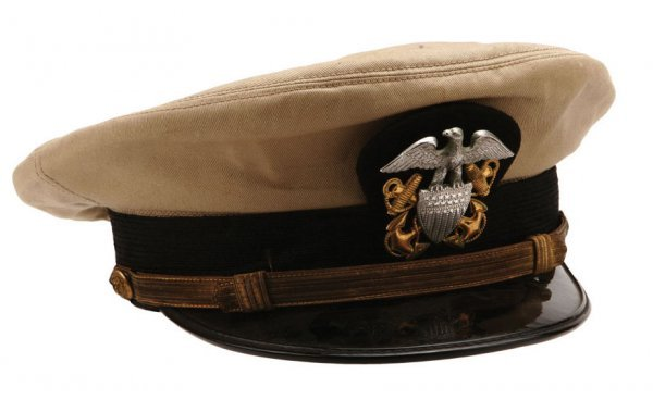 "Humphrey Bogart Hat From ""The Caine Mutiny"""