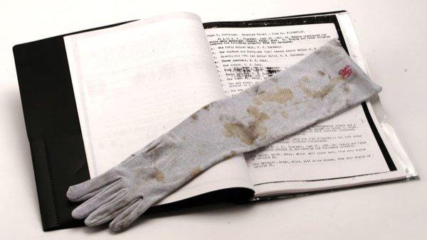 Jayne Mansfield Bloodstained Glove