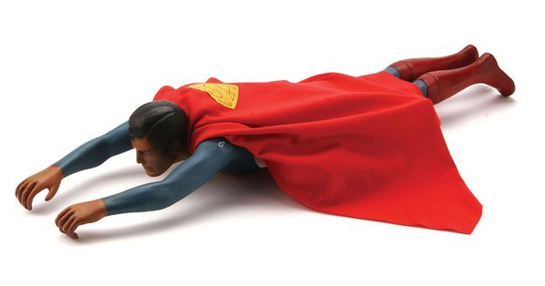 """Christopher Reeve """"Superman"""" Special Effects Model"""