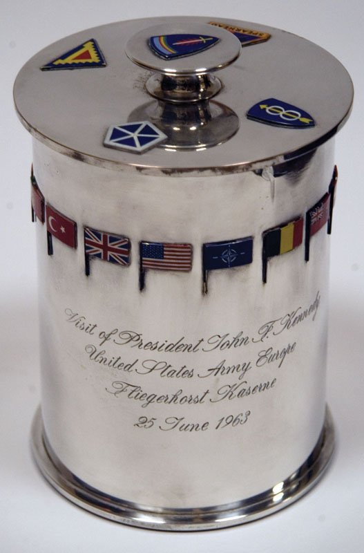 Humidor Presented To President Kennedy During '63 Visit