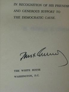Profiles In Courage' JFK Signed Copy