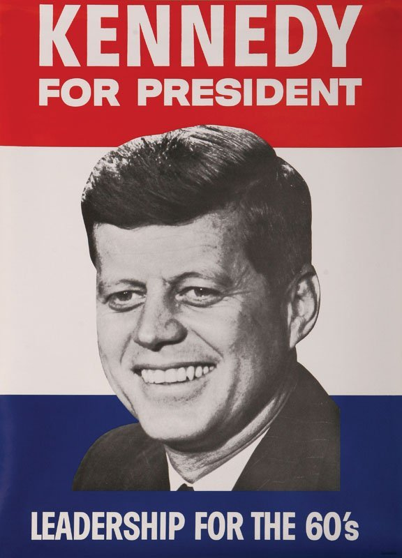 JFK Campaign Posters