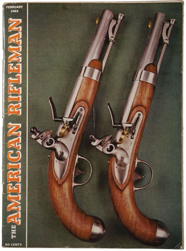 1963 'American Rifleman' With Oswald Gun Advertisment