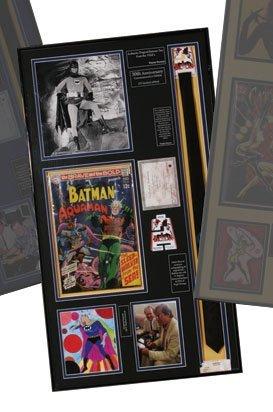 "Burt Ward ""Robin"" Plaque from ""Batman"""