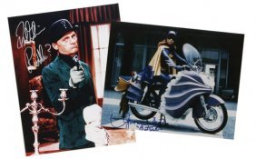 "Signed ""Batman"" TV Photos"