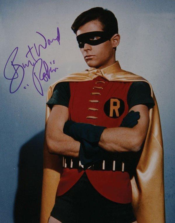 "Signed ""Batman"" Photos"