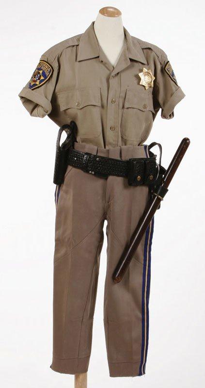 "Erik Estrada ""CHiPs"" Uniform"