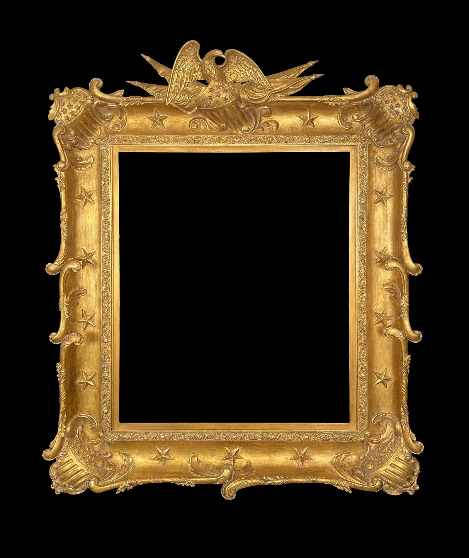 Eli Wilner Frame, American c. 1810 Style Ex. G. Stuart