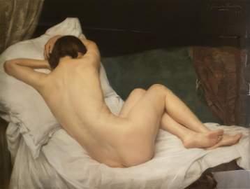 Jan van De Fackere, Female Nude