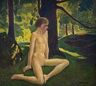 Rockwell Kent, Portrait of Kathleen II c. 1923