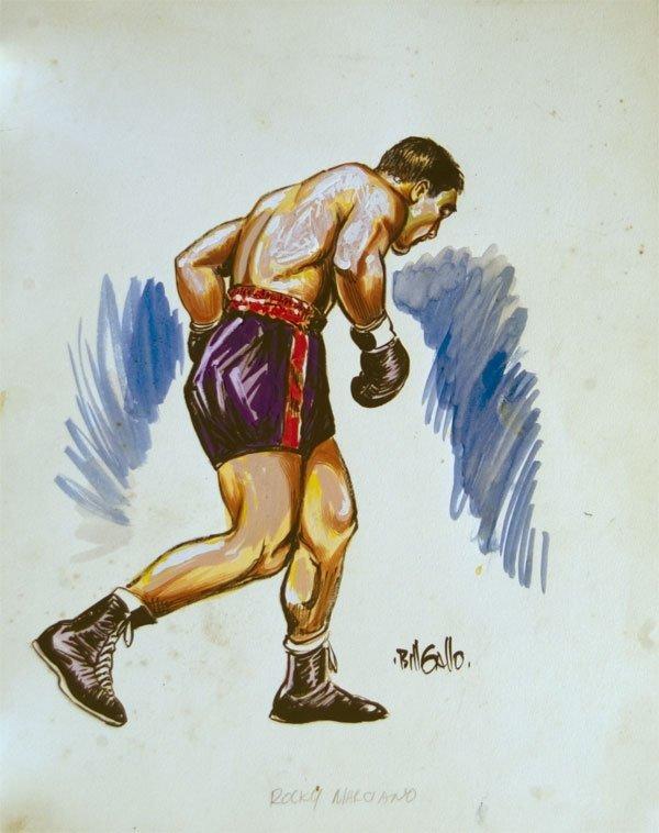 3: Rocky Marciano by Bill Gallo