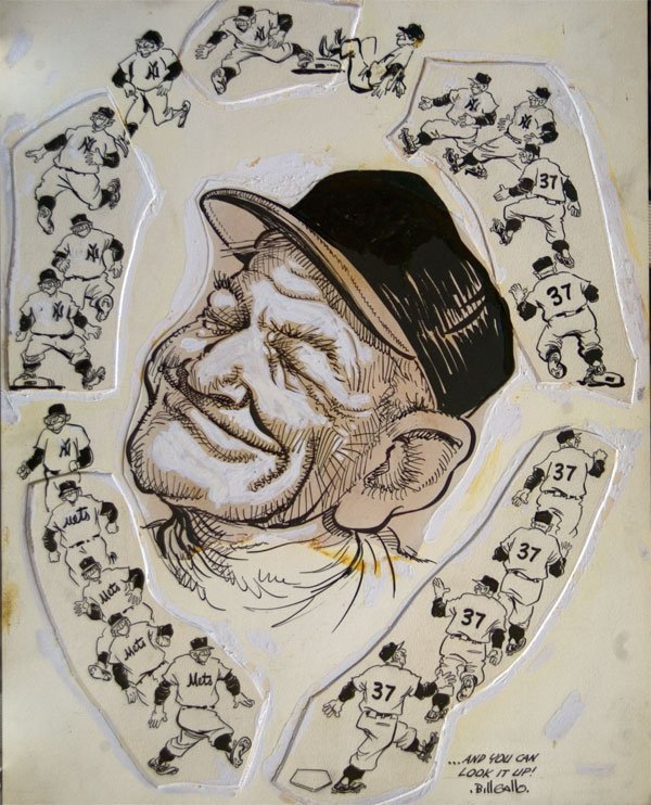 7: You Can Look it Up! (Casey Stengel) by Bill Gallo