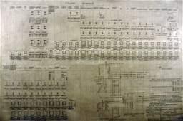 172: Stadium Architectural Plan for Column Schedule, 9-