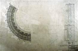 183: Stadium Architectural Plan for Upper Deck Seating