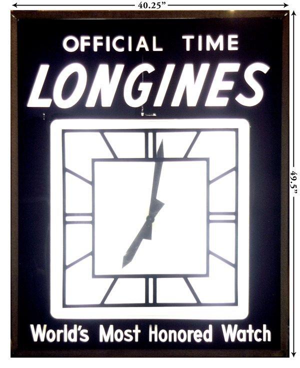 20B: Longines Clock from Yankee Stadium