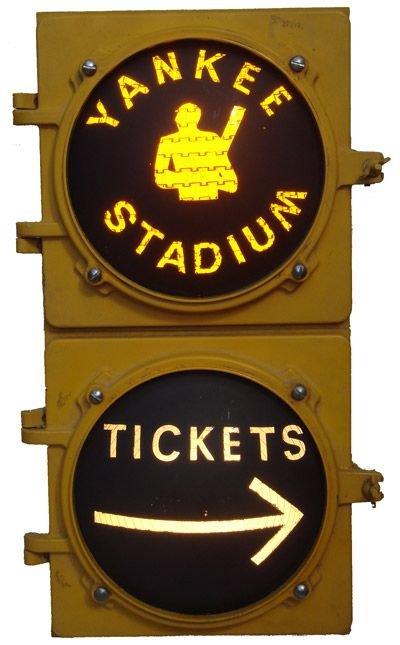 """20C: Yankee Stadium """"Stop Light"""" Style Ticket Sale"""