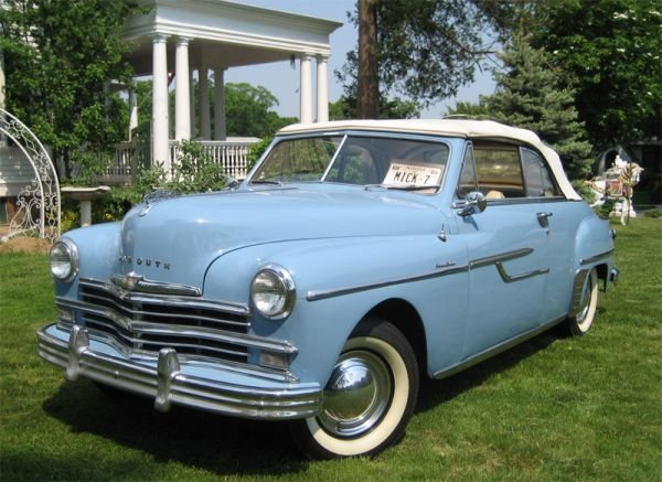 75B: Mickey Mantle's 1949 Plymouth Convertible