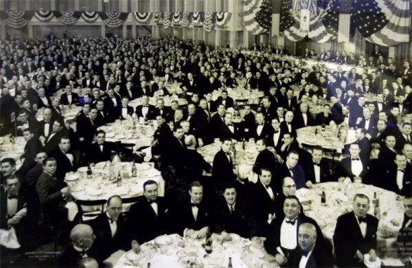 274: Photograph, 1938 Babe Ruth Luncheon