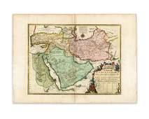 de Fer Danet La Perse Georgie  Natolie Les Arabies