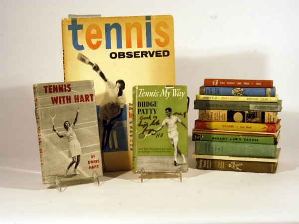 5: Collection of Tennis-Themed Modern Books