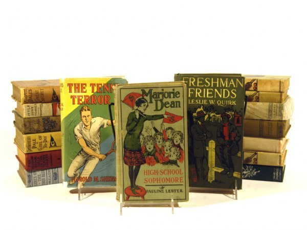6: Tennis Fiction Books,  1900-1940