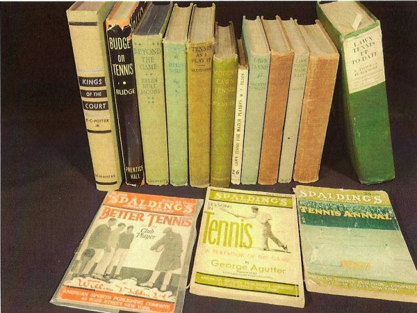 9: Collection of Pre-WW II Tennis Books