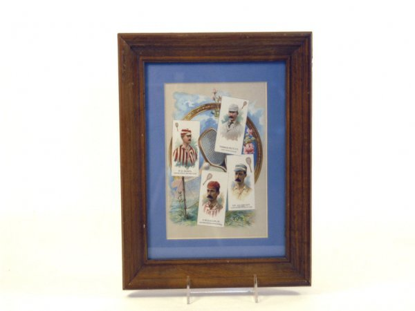 23: Framed Page from Allen & Ginter World's Champions 2