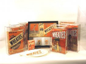 Complete Collection Of Wheaties Tennis-Themed Boxes