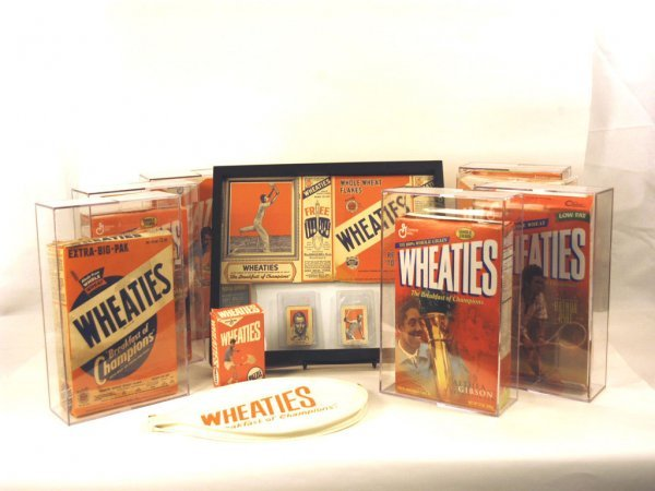33: Complete Collection of Wheaties Tennis-Themed Boxes